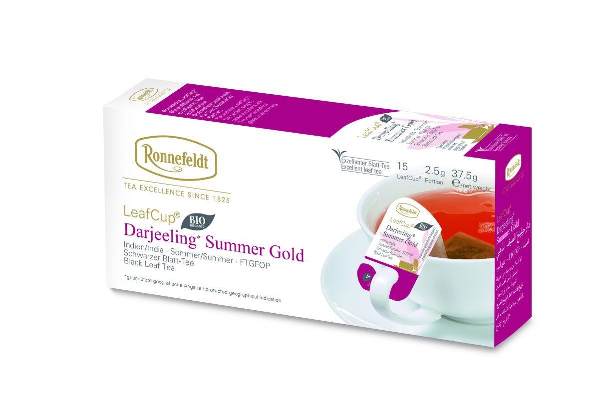 BOHNHAUS - J.T. Ronnefeldt - Teesortiment - Darjeeling Summer Gold